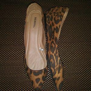 Merona Shoes - Leopard Print Flats